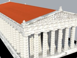 Parthenon Rendered 6