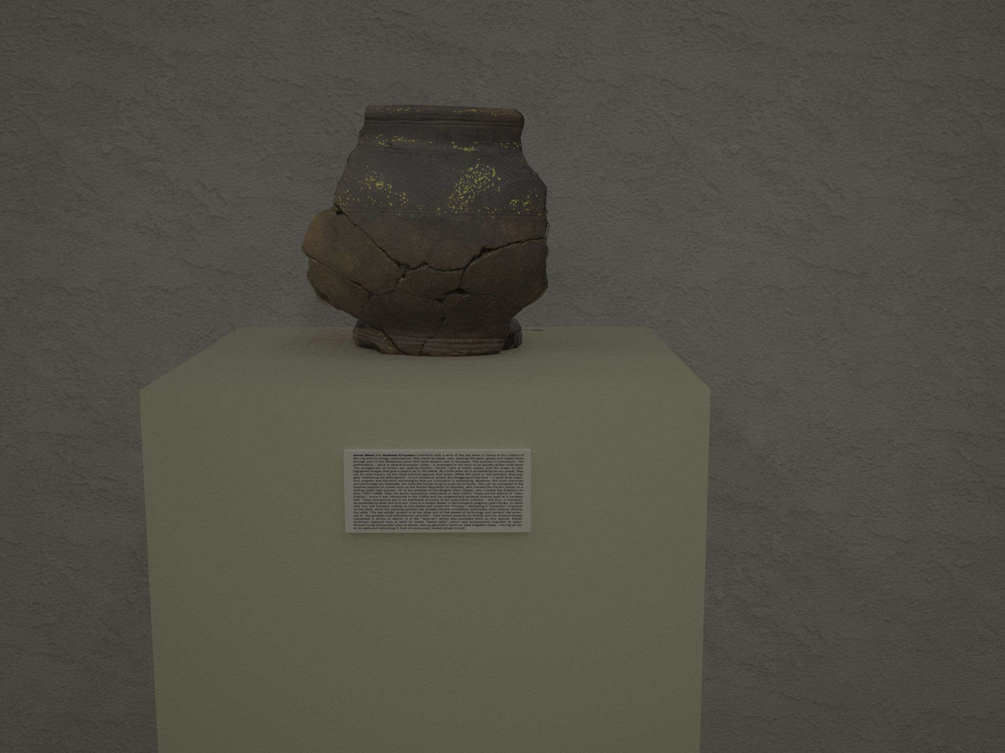 Virtual Museums: Combining 3D Modelling, Photogrammetry and