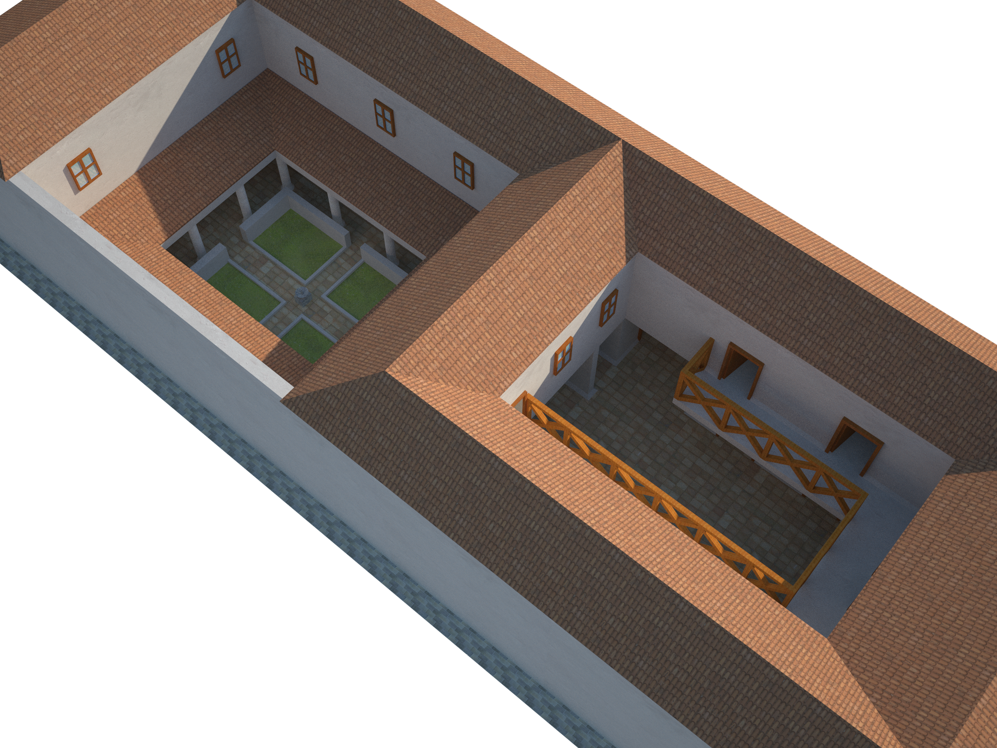 Villa 3d Reconstruction In Archaeology